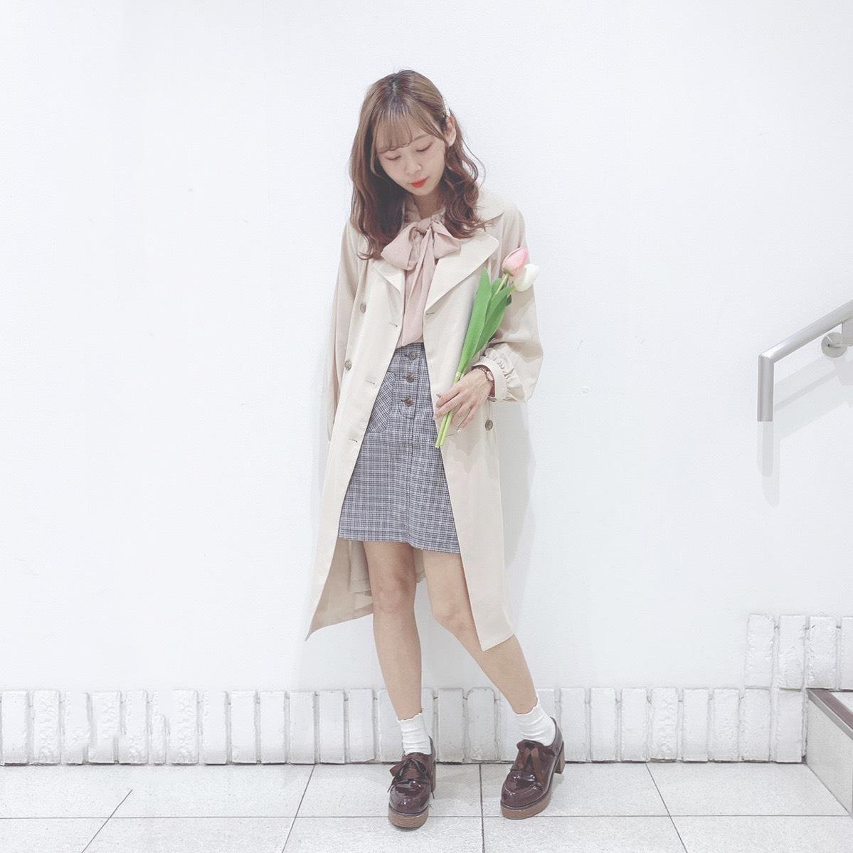 春のマストアイテム『トレンチコート』3コーデ!