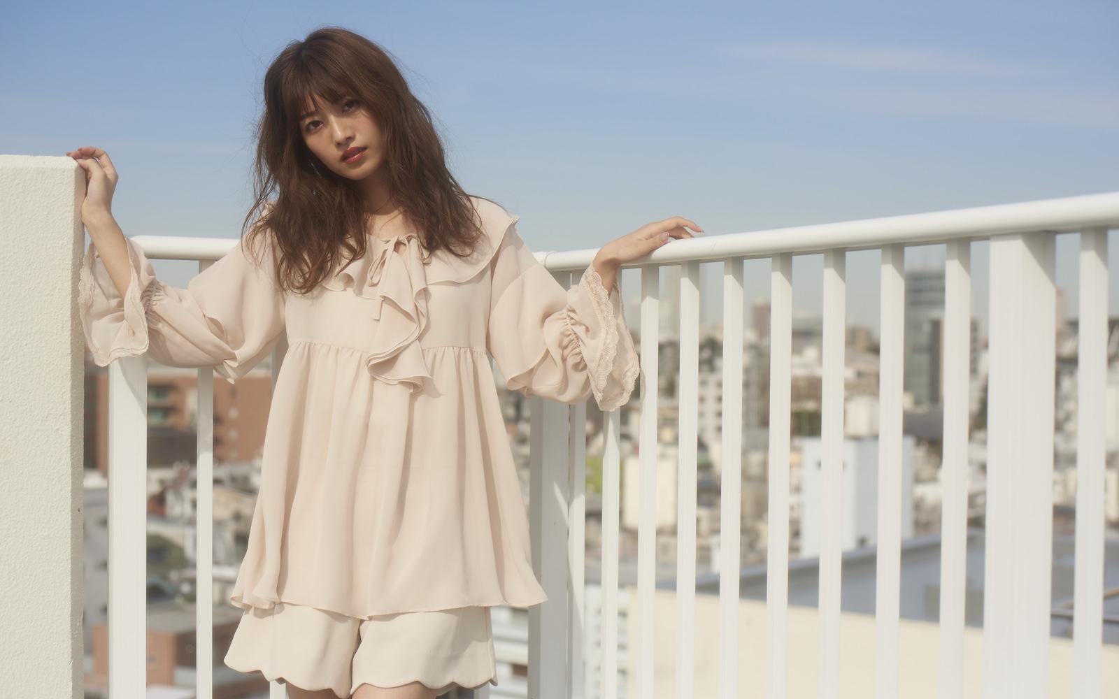 MAJE×小室安未 Vol.1|ドーリーホワイトでロマンティックな春、始まる♡