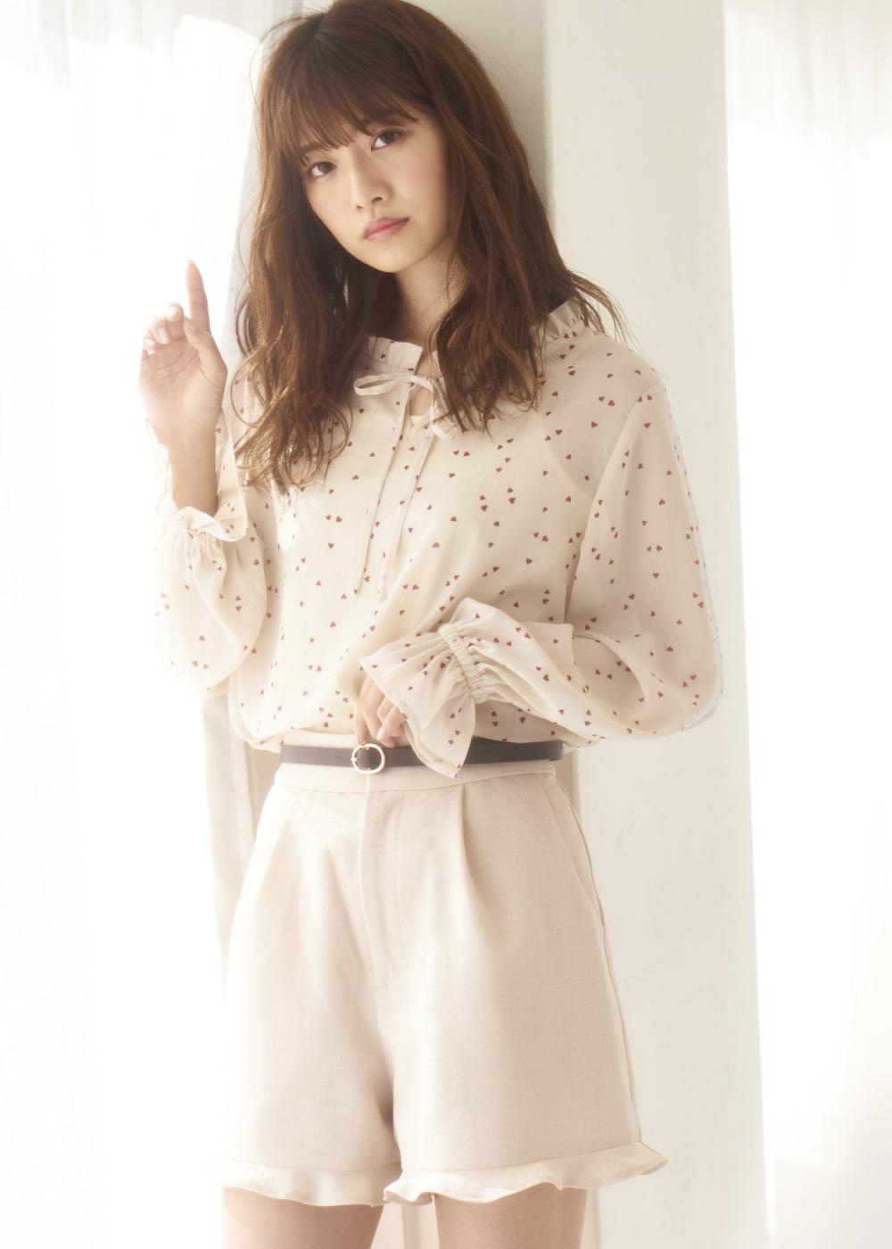 MAJE×小室安未 Vol.2|この春は、ガーリーパターンを味方につけて