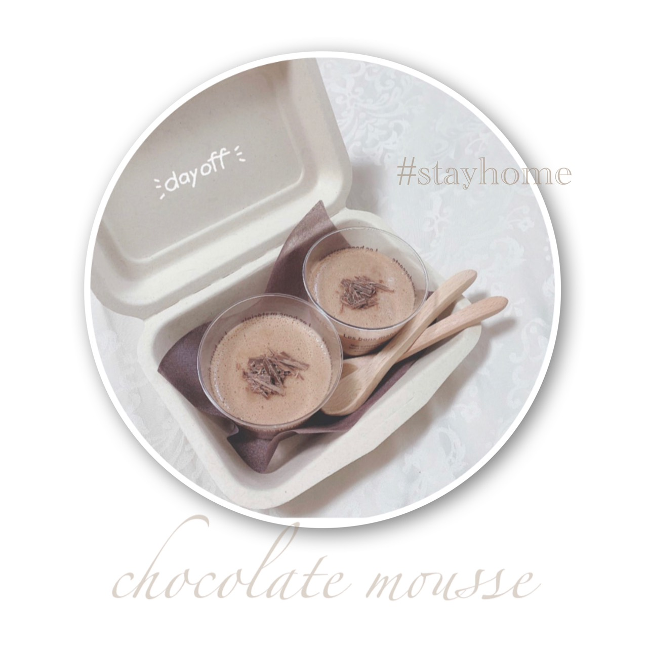 簡単美味しい!!マシュマロチョコムース♡