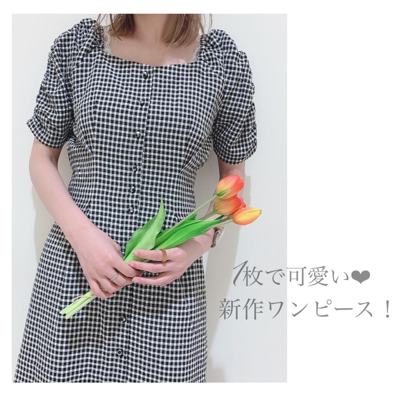 1枚で可愛い❤️新作ワンピース!!