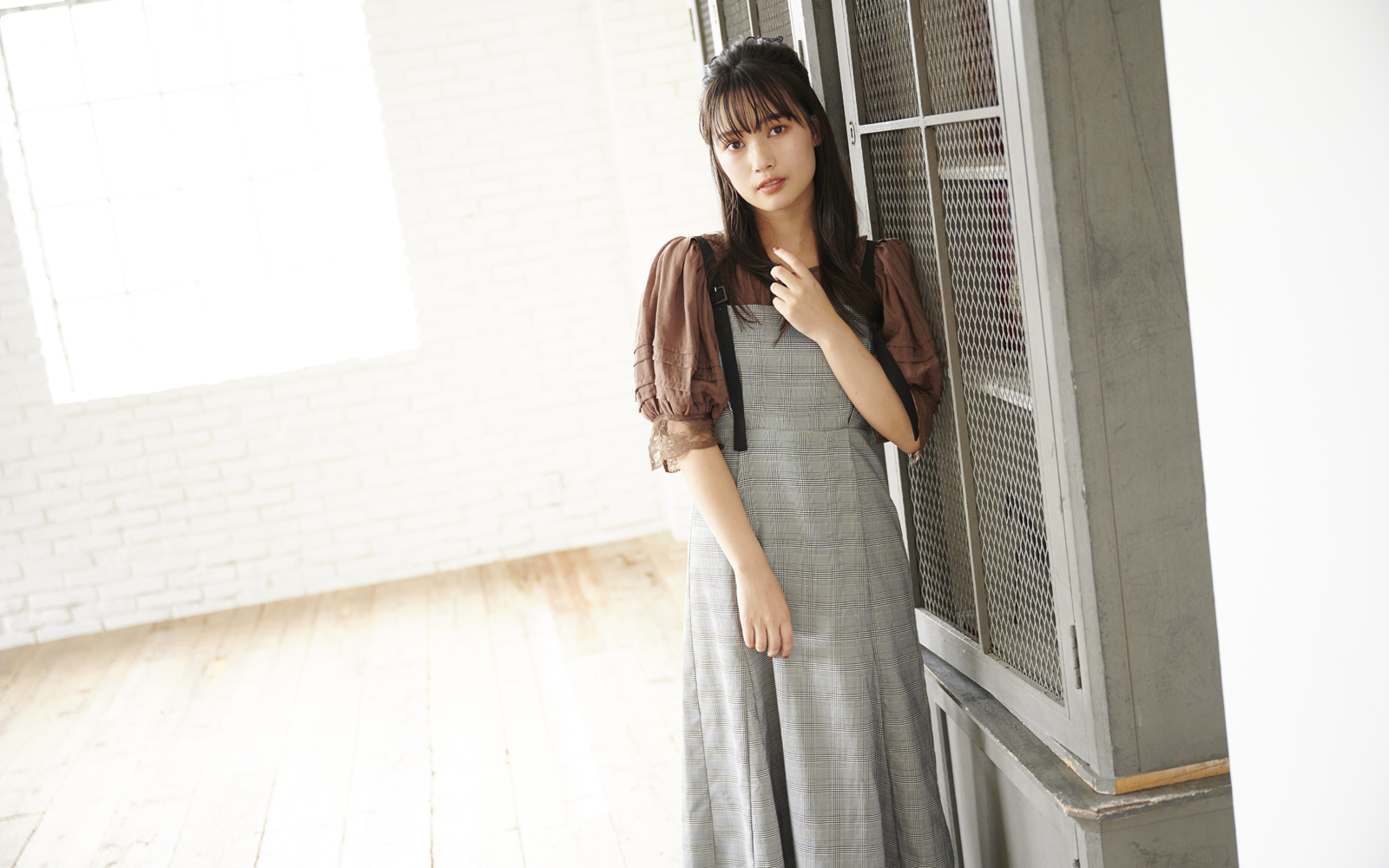 MAJE×メドウズ舞良 Vol.3|Girly VintageなChecked item♪