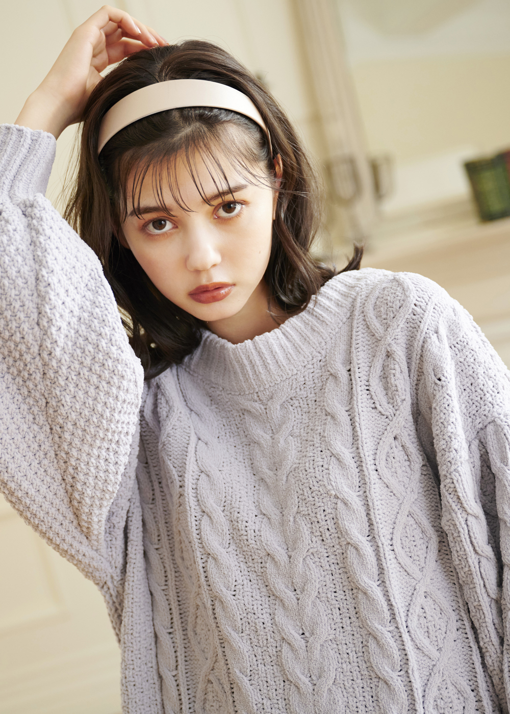 MAJE×愛花 Vol.1|Girly Vintageな knit Coordinate♪