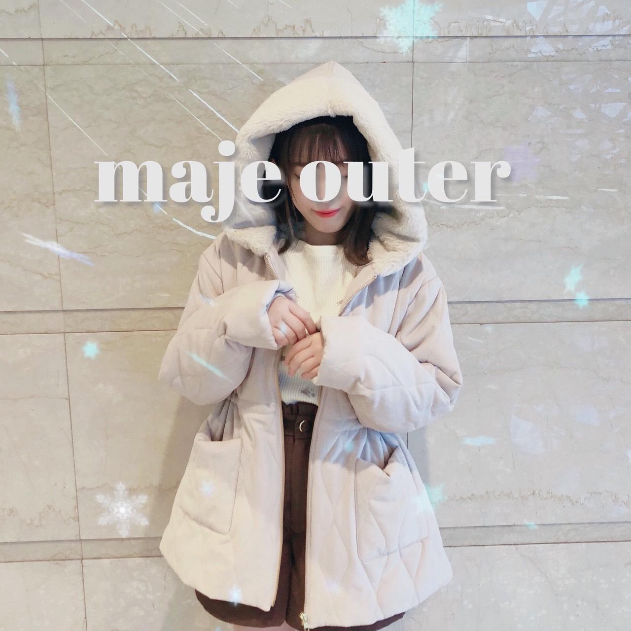 冬本番⛄️!マジェのオススメアウター♡