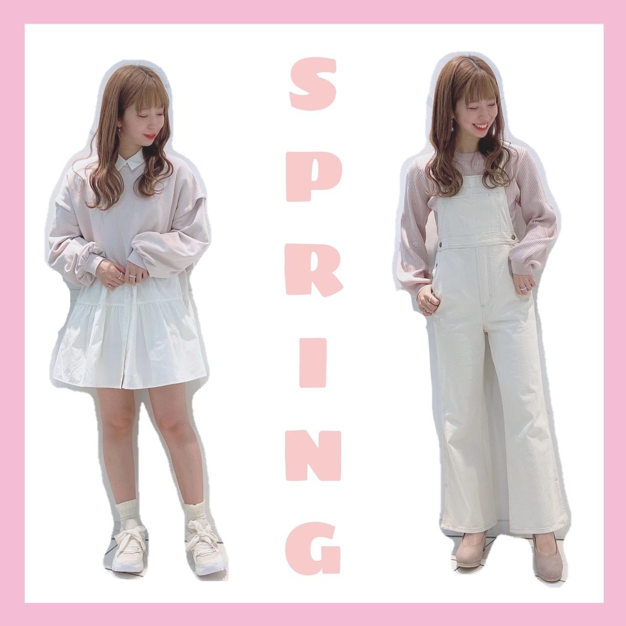 今買いたい✨すぐ着れるオススメ春服🌷