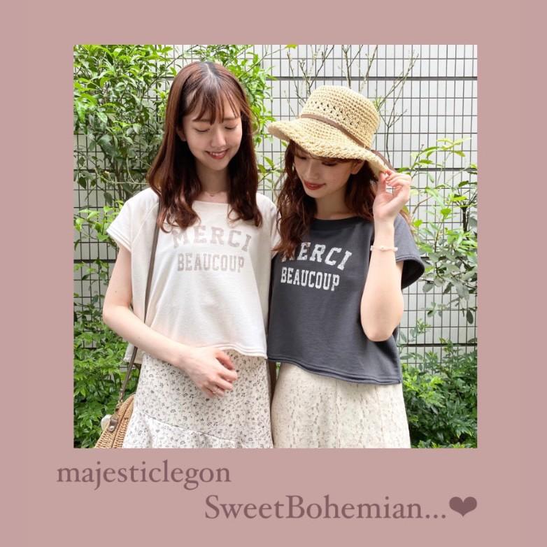 Sweet Bohemian…♡ マジェの甘ボヘコーデ特集