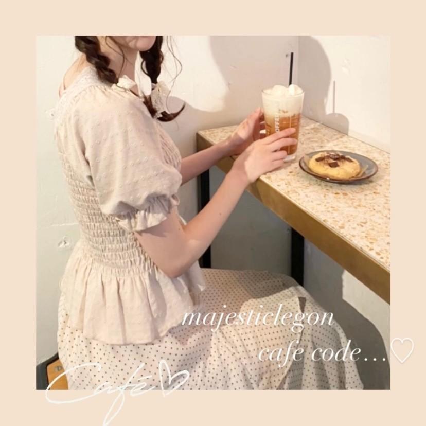 カフェ巡りにおすすめ♡ 淡色トップス特集🍨